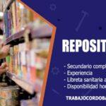 repositores para empresa de consumo masivo trabajo cordoba