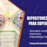 repositores externos para supermercado trabajo cordoba